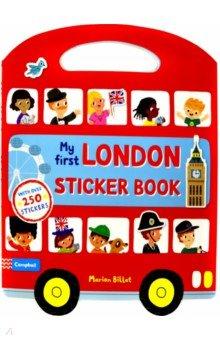 Купить My First London Sticker Book, Mac Children Books, Книги для детского досуга на английском языке