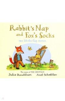 Купить Tales from Acorn Wood: Fox's Socks & Rabbit's Nap, Mac Children Books, Первые книги малыша на английском языке