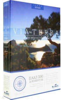 Купить Пазл-500 Via Terra. Вечерний свет солнца (04948), Оригами, Пазлы (400-600 элементов)