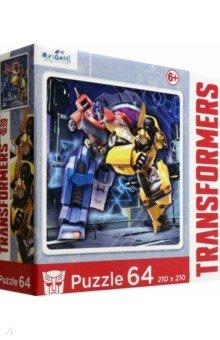 Купить Transformers. Пазл-64 Автоботы (4834), Оригами, Пазлы (54-90 элементов)