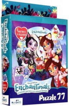 Купить Enchantimals. Пазл-77 Подружки (04715), Оригами, Пазлы (54-90 элементов)