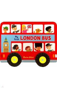 Купить Whizzy Wheels. London Bus, Mac Children Books, Первые книги малыша на английском языке