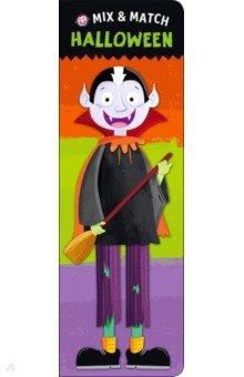 Купить Mix and Match: Halloween (board book), Priddy Books, Первые книги малыша на английском языке