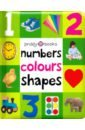 Priddy Roger Numbers, Colours Shapes (soft to touch board book) priddy roger dinosaur galore