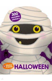 Купить Sticker Friends: Halloween, Priddy Books, Книги для детского досуга на английском языке