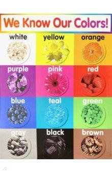 Купить Colors chart, Scholastic Inc., Изучение иностранного языка