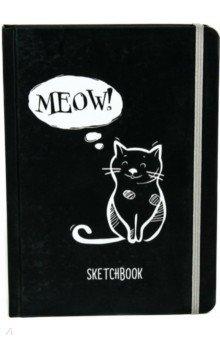 Скетчбук А5. Кошка