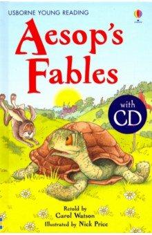 Купить Aesop's Fables (+CD), Usborne, Художественная литература для детей на англ.яз.