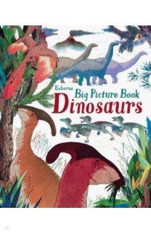 Купить Big Picture Book. Dinosaurs, Usborne, Художественная литература для детей на англ.яз.