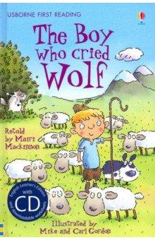 Купить Boy Who Cried Wolf (+CD), Usborne, Художественная литература для детей на англ.яз.