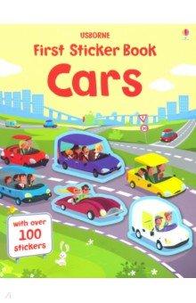 Купить First Sticker Book: Cars, Usborne, Книги для детского досуга на английском языке