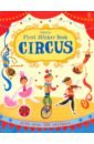 First Sticker Book. Circus first experience sticker book going to school