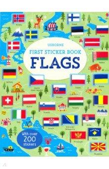 First Sticker Book: Flags