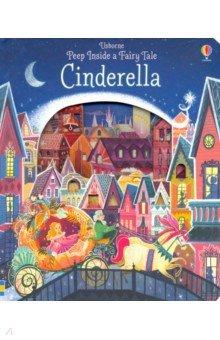 Купить Peep Inside a Fairy Tale. Cinderella, Usborne, Художественная литература для детей на англ.яз.