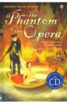Купить The Phantom of the Opera (+CD), Usborne, Художественная литература для детей на англ.яз.