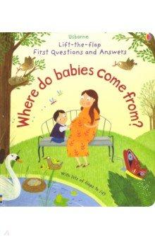 Купить Where Do Babies Come from?, Usborne, Первые книги малыша на английском языке