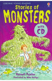 Купить Stories of Monsters (+CD), Usborne, Художественная литература для детей на англ.яз.