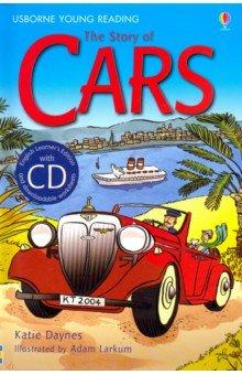 Купить The Story of Cars (+CD), Usborne, Художественная литература для детей на англ.яз.