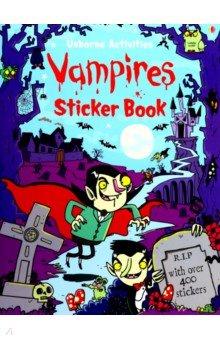 Купить Vampires Sticker Book, Usborne, Книги для детского досуга на английском языке