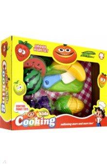 Купить 3780 Набор пластиковых фруктов и овощей(в коробке), Дрофа Медиа, Другие игрушки для малышей