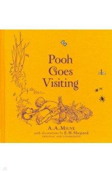 Купить Winnie-the-Pooh: Pooh Goes Visiting, Egmont Books, Художественная литература для детей на англ.яз.