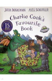 Купить Charlie Cook's Favourite Book, Mac Children Books, Художественная литература для детей на англ.яз.