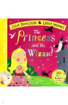 Купить The Princess and the Wizard (+CD), Mac Children Books, Художественная литература для детей на англ.яз.