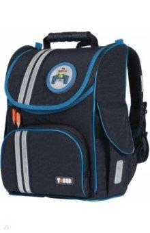 Купить Ранец TIGER Cool Blue 35х31х19см (227019), Ранцы и рюкзаки для начальной школы