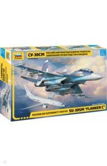 Купить Российский истребитель СУ-30СМ 1/72 (7314), Звезда, Пластиковые модели: Авиатехника (1:72)