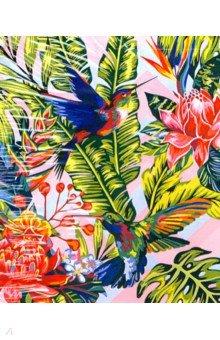 Купить Рисование по номерам по дереву Колибри (40х50 см) (FLA041), Русская живопись, Создаем и раскрашиваем картину