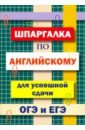 Обложка Шпаргалка по английскому языку для сдачи ОГЭ и ЕГЭ