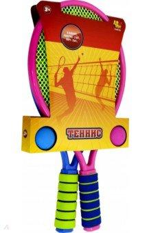 Купить Игра активная Теннис , 2 ракетки и 2 мяча (S-00155), ABtoys, Игры для активного отдыха