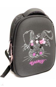 Купить Рюкзак школьный каркасный Заяц Sweet Bunny (темно-серый) (12-001-042/06), Bruno Visconti, Рюкзаки школьные