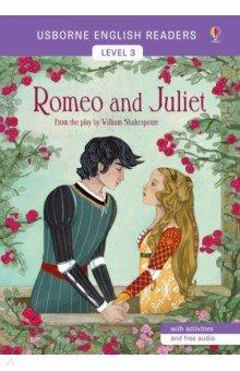 Купить Romeo and Juliet, Usborne, Художественная литература для детей на англ.яз.