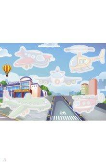Купить Многоразовые водные раскраски. Выпуск 5 Самолет и вертолет , Стрекоза, Водные раскраски
