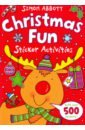 Abbott Simon Christmas Fun Sticker Activities