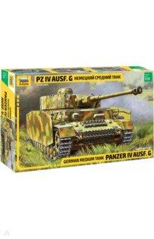 Купить Немецкий средний танк Pz IV Ausf. G 1/35 (3674), Звезда, Бронетехника и военные автомобили (1:35)