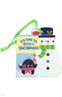 Купить It's Time to Build a Snowman! (board book), Simon & Schuster UK, Первые книги малыша на английском языке