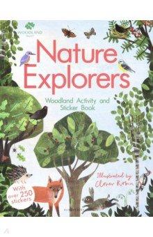 Купить The Woodland Trust. Nature Explorers Woodland Activity and Sticker Book, Bloomsbury, Книги для детского досуга на английском языке