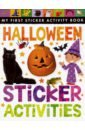 Halloween Sticker Activities little children s halloween activity book