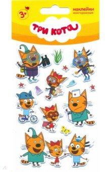 """Набор многоразовых наклеек """"Три кота 2"""" ()"""