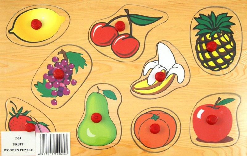 Иллюстрация 1 из 3 для Фрукты (D65)   Лабиринт - игрушки. Источник: Лабиринт