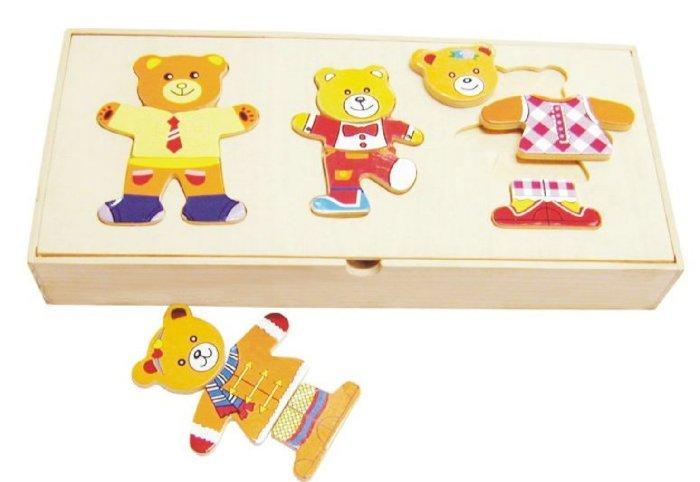 """Иллюстрация 1 из 12 для Развивающая деревянная игра """"Семья медведей"""" в коробке (D117)   Лабиринт - игрушки. Источник: Лабиринт"""