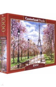 Купить Puzzle-1000. Романтическая прогулка по Парижу(С-104369), Castorland, Пазлы (1000 элементов)