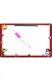 Купить Доска для рисования с маркером (70303), KriBly Boo, Сопутствующие товары для детского творчества