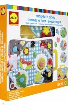 Купить Набор для создания поделки из текстиля Пикник (220100-5), ALEX, Аппликации