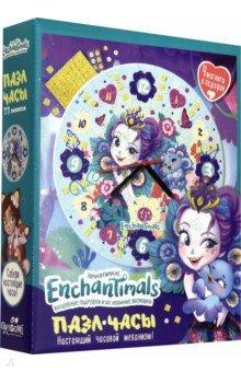 Купить Enchantimals. Пазл-часы Павлин (77 элементов) (+4 магнита) (05069), Оригами, Пазлы (54-90 элементов)