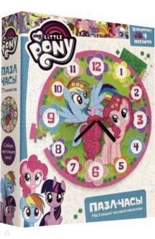 Купить Пони. Пазл-часы Радуга (77 элементов) (+4 магнита) (05080), Оригами, Пазлы (54-90 элементов)