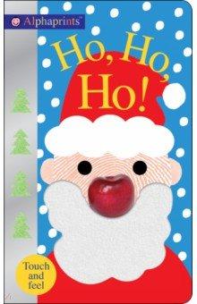 Купить Ho, Ho!, Priddy Books, Первые книги малыша на английском языке