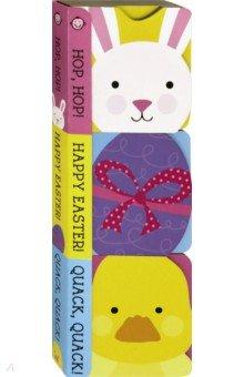 Купить Easter Chunky Set (3 board books), Priddy Books, Первые книги малыша на английском языке